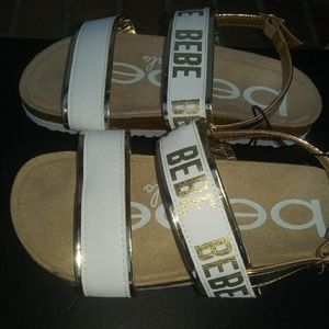bebe Shoes - SOLD!🆕Bebe | Strappy Sandals girls size 1